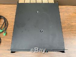 Bose Pm8500 Powermatch Amplificateur De Puissance Professionnel Fonctionne Très Bien! Examiné