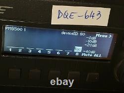 Bose Powermatch Pm8500 Amplificateur De Puissance Professionnel (article Non Testé)