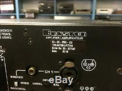 Bryston 3b-st Pro Amplificateur De Puissance De Montage En Rack Trs Symétrique + Rca Boîte Et L'emballage