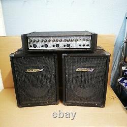Carlsbro Cobra Pa100 Professionnel 4 Canaux Pa Power Amp & Haut-parleurs