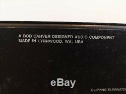 Carver Pm-900 Magnétique Professionnel De Scène Amplificateur De Puissance Champ