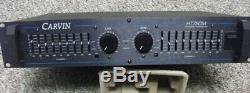 Carvin Ht760m Professional Dual Monitor Graphique Amp Péréquation Monitor Power Amp