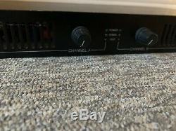 Chevin Recherche A500 Stéréo Professionnel Amplificateur De Puissance Pa Esclave Amp 1u