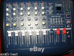Console De Mixage Amplifiée Amp Pour Console De Mixage Usb Power Power Pro 6 800 W