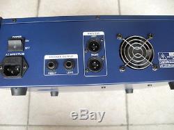 Console De Mixage Pro 6ch Karaoke Music Power Mélangeant Un Amplificateur 800w 48v Usb Sd