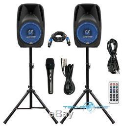 Coupler Alphasonik Tout-en-un 12 Enceintes Amplifiées Amplifiées Pro 1500w Pro Dj
