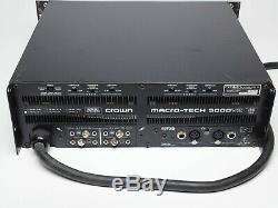 Couronne Macrotech 5000vz Amplificateur Professionnel