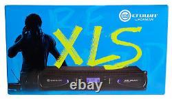 Couronne Pro Xls1502 Xls 1502 1550w Dj / Pa Amplificateur De Puissance Amp, Seulement 8,6 Lbs + Dsp