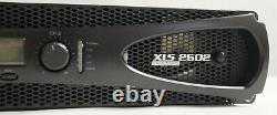 Couronne Pro Xls2502 Xls 2502 2400w Dj / Pa Amplificateur De Puissance Amp, Seulement 11 Lbs + Dsp