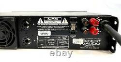 Crest Audio 7001 Professional 2 Channel Power Amplificateur Rack Mountable Testé #1