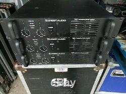 Crest Audio 7001 Puissance Professionnelle Amplificateurs-nice