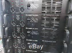 Crest Audio 7301 Ampli De Puissance Pour Moniteur Professionnel, Bel État