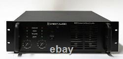Crest Audio 8001 1400w Professionnel 2-channel Stereo Power Amplificateur Tel Qu'il Est
