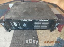 Crest Audio 8001 Amplificateur De Puissance Professionnel Amp 1225 Watts