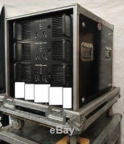 Crest Audio 8002 Amplificateur De Puissance Professionnel Bon État