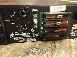 Crest Audio 9001 Amplificateur De Puissance Professionnel As Est Untested