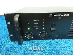 Crest Audio Amplificateur De Puissance Professionnel 8001