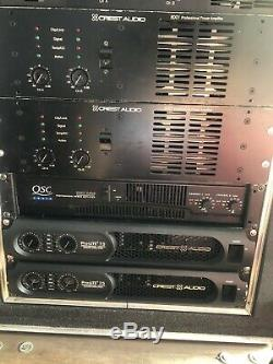 Crest Audio Amplificateur De Puissance Professionnel 8001 X 1