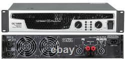 Crest Audio Cc1800 CC 1800 Watt 2 Channel Pro Power Amp Amplificateur