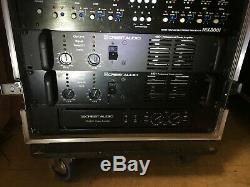 Crest Audio / Dbx Fa2401 4801 Amplificateur De Puissance Professionnel Dbx 166 Eq231 Sabine