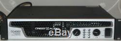 Crest Audio Model Cc4000 Amplificateur De Puissance Professionnel (4000w, 2ru)