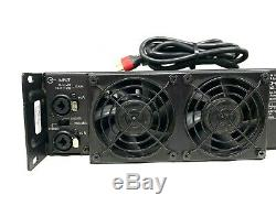 Crest Audio Pro 7200 120v Amplifier Withpower Cord # 6707 # 6708 (one)