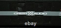 Crest Audio Vs1500 Amp 2000 Watt Pro Live Sound Amplificateur De Puissance Professionnel