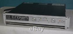 Crown 3600 Audio Power Pro Amplifier, Etats-unis Libres Expédition