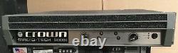Crown Amplificateur Ma5000i Macro Tech Professionnel 2 Canaux De Puissance Free Shipping