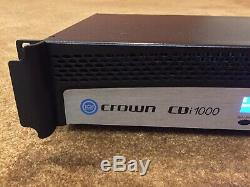 Crown CDI 1000 Stereo Pro Amplificateur De Puissance 500w 2 Canaux Rackmount