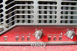 Crown Ce1000 Amplificateur De Puissance Audio 2 Canaux 11 000 Watts (ponté)