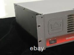 Crown Ce4000 Amplificateur De Puissance Professionnel Dj / Pa