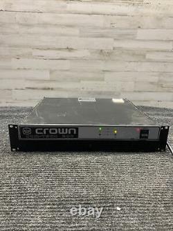 Crown Com Tech 200 2-channel 2-ch Amplificateur Stéréo Power Pro