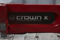 Crown Commercial Series K2 Amplificateur Professionnel Audio 2 Channel Power Amp Red