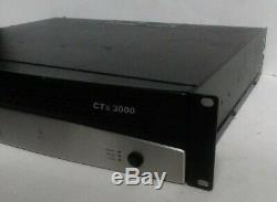 Crown Cts 3000 Pro Amplificateur Audio 1500w Par Canal Livraison Gratuite