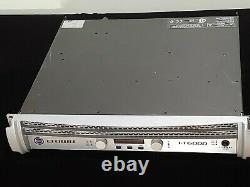 Crown I-tech 6000 Professional Power Amplificateur Dj / Pa