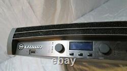 Crown Itech 12000 Hd Pro Audio Pa Loud Speaker Amplificateur Harman I Tech I-tech