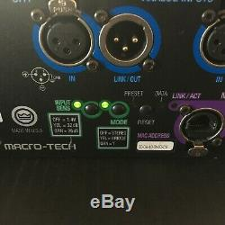 Crown Macro-tech 9000i Audio Pro Amplifier Avec La Boîte