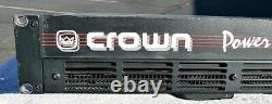 Crown Power Base 2 Professional Power Amplificateur Fonctionne Great Good Cond + Wty