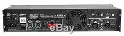 Crown Pro Amplificateur Amplificateur De Puissance Dj / Pa 2400w Xls 2502 Xls 2502, Seulement 11 Lbs + Dsp
