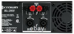 Crown Pro Audio Xli2500 1500 Watt 2 Canaux Dj/pa Amplificateur De Puissance XLI 2500
