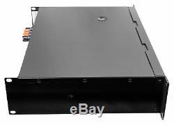 Crown Pro Audio Xli2500 Amplificateur Dj / Pa 2 Canaux 1500w + 2 Câbles Speakon Pour 1/4