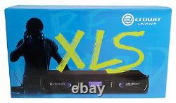 Crown Pro Xls1002 Xls 1002 700 Watt Amplificateur De Puissance Dj/pa, Seulement 8 Lbs + Dsp