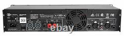 Crown Pro Xls2502 Xls 2502 2400w Dj / Pa Power Amplificateur, Seulement 11 Lbs + Dsp