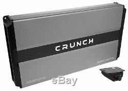 Crunch Pd3000.2 - Kit Amplificateur Audio De Voiture Pour Amplificateur Professionnel 2 Canaux 3000w, Classe Ab +