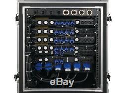 Cvr D-3002 Amplificateur De Puissance Professionnel 7140 Watts X2 À 2 (noir)