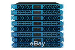Cvr D-3002 Série Amplificateur De Puissance Professionnel Un Espace De 3000 Watts X2 À 8 Blk