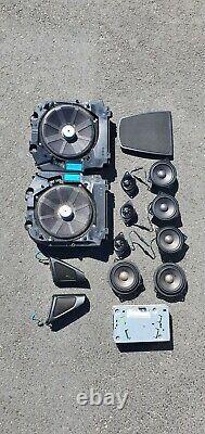 D'origine Bmw Série 5 F10 F11 Soundsystem Verstärker Système Hifi Lautsprecher 9312593