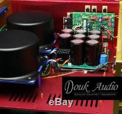 Douk Audio Amplificateur De Puissance Professionnel Non-nfb Hi-end Stereo Hifi Amp 250w @ 4