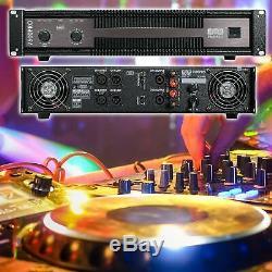 Emb 7500 Watts Amplificateur De Puissance Professionnel À 2 Canaux Eb7500pro Amp Dj Pa Stéréo
